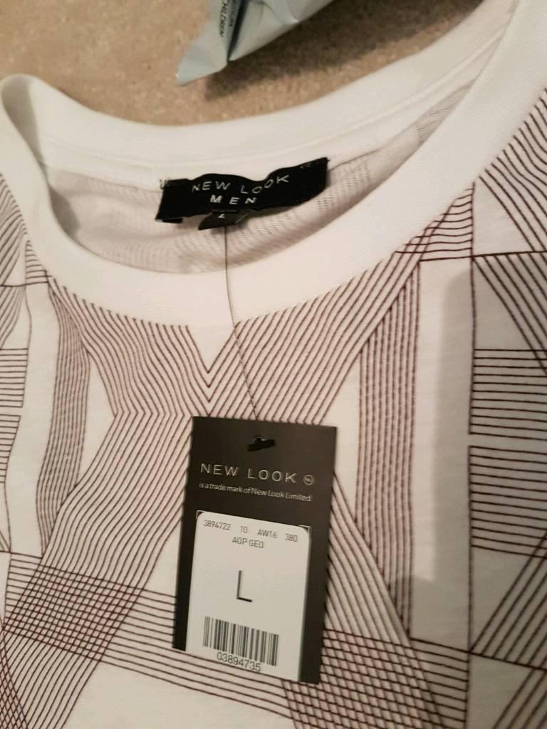 Men's Brand New New Look t shirt