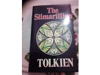 The silmarillion tolkien hard back i think first edition mint