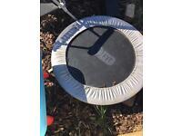 Mini exercise trampoline