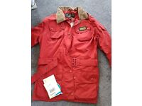 BARBOUR INTERNATIONAL REF SIZE 10 RAINCOAT / JACKET - ONLY £40 COST £180