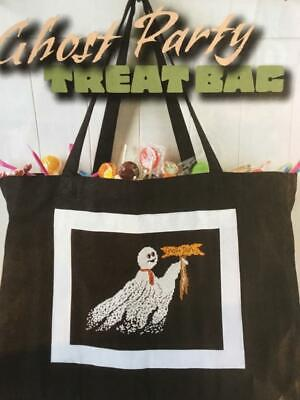 Halloween Treat To Make (CROSS STITCH HALLOWEEN TREAT BAG TO MAKE REMOVED FROM A USA)