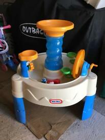 Little tikes water tray