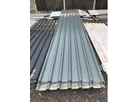 Metal cladding and roofing sheets plastisol lined