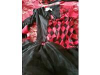 Female jester adult costume