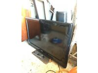 Toshiba flat screen television 32in