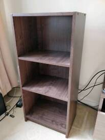 Argos Home Maine 2 shelf half width small bookcase