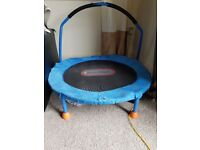 Little tikes indoor/outdoor trampoline used condition