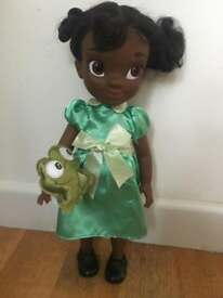 Tiana doll from the princess and the frog