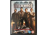 Wild Hogs DVD John Travolta, Martin Lawrence, William H Macy, Tim Allen