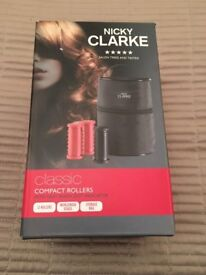 NICKY CLARKE - CLASSIC COMPACT HEATED ROLLERS