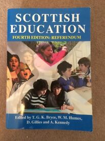 Scottish Education Fourth Edition: Referendum - PGDE/Primary Teaching