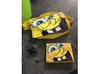 SpongeBob portable dvd player