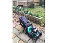 Qualcast 148cc 46cm Self-Propelled Petrol Garden Mower