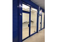 UNITS TO LET INSIDE CHAMPION MALL - ONE WITH GLASS FRONT - AVAILABLE NOW - BILLS INCLUDED