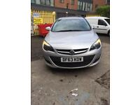 2013 Vauxhall Astra 1.3 cdti ecoflex exclusive.great condition.cat d