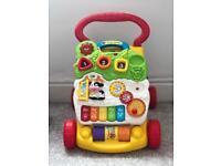 Baby toy walker learning
