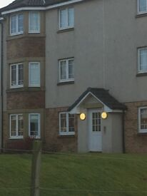 Newly renovated modern 2 bed flat for rent in Saltcoats