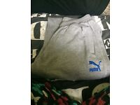 PUMA grey tracksuit - LARGE