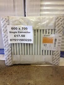 CENTRAL HEATING RADIATOR STELRAD Single Convector 600mm high x 700 mm long