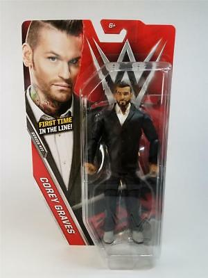 Corey Graves Basic Series 77 WWE Mattel Brand New Figure Toy - Mint Packaging