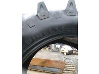 Part worn tractor tyres