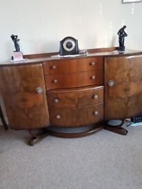 Old 1950s sideboard