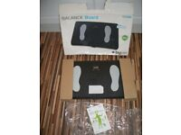 Wii Balance board, Ex Cond. Wii compatible. In Black with instructions