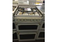 50CM WHITE GAS COOKER WITH COVER