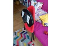 Baby Bjorn high chair in red