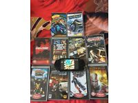 for sale psp and 10 games
