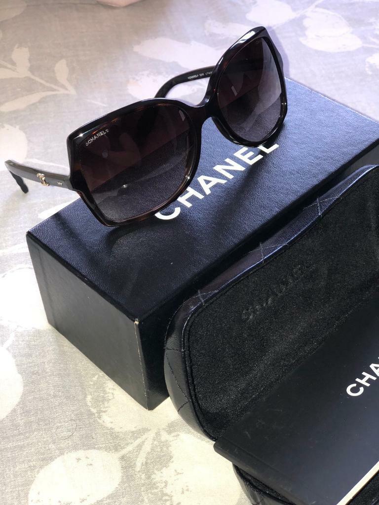 ab51324f08 Tortoiseshell Chanel Sunglasses 5245 714 S5