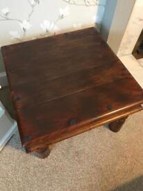 Rustic side table/small coffee table