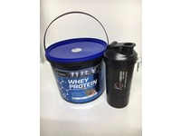 IRONSCIENCE TITAN Whey Protein 2.25kg | 30g Protein Per Serving + FREE Smart Shaker