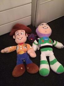 3ft buzz lightyear & 3ft woody / toy story