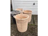 Plasterers buckets