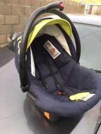 I coo baby car seat