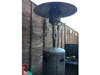 Extendable full size patio heater (runs off Gas)