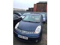 Nissan note 1.4 petrol 5 doors hatchback 5 seater family car 2008 58 plate