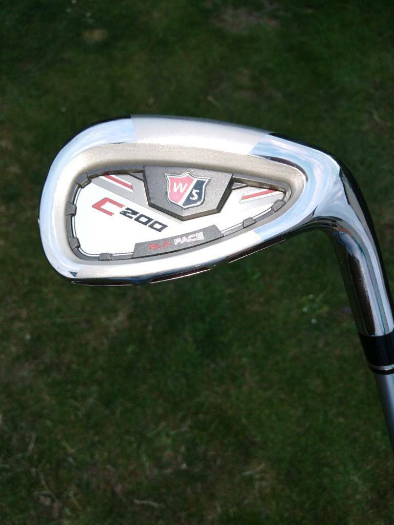 Wilson Staff C200 irons with Titleist stand bag. | in ...