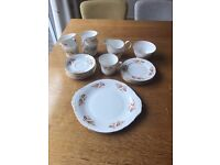 Vintage Tea Set- ROYAL OSBOURNE