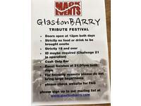 4 No.Concert tickets GlastonBarry weekender (4No)