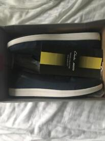Clark's musto boat shoes size 7 (BRAND NEW)