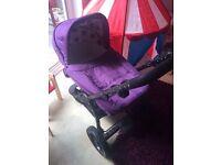 Obaby zezu dotty pushchair (purple)