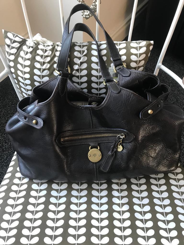 e83a6c6910 Genuine Somerset Mulberry Leather Bag RRP £550