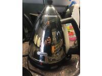 Delonghi chrome kettle