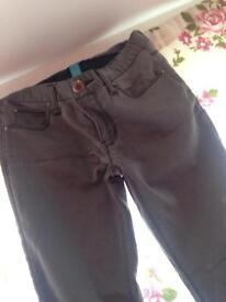 Grey stylish jeans