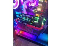 Asus Strix 2080ti Nvidia Graphics Card - 11GB VRAM Watercooled Incudes EK block - Hardly Used
