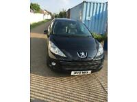 2011 PEUGEOT 207 MANUAL MOT AND TAX 1.4cc