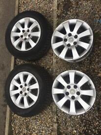 Vauxhall astra h alloys