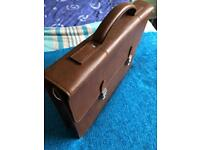 M&S leather briefcase - superb condition